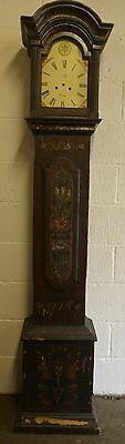 Scandinavian longcase clock dated 1774 (restoration project)