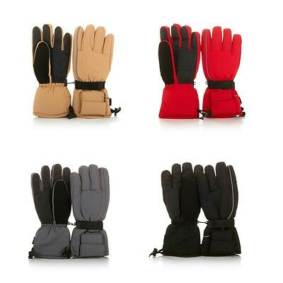 Hot Headz Battery-Operated Heated Snow Winter Gloves Choose Color NEW