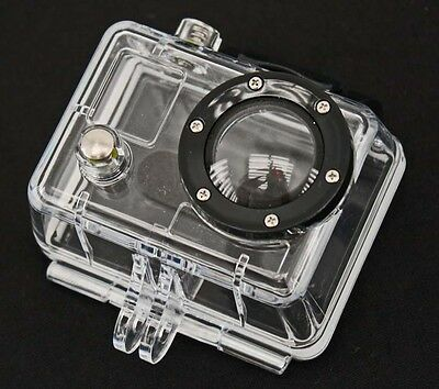 Genuine GoPro HERO 2 Underwater Waterproof Dive Case Housing NO BUCKLE SCREW