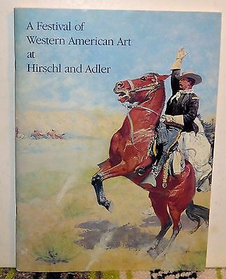 A Festival of Western American Art at Hirschl and Adler Galleries, 1984