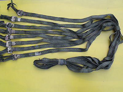 8.5' Tow Recovery Cargo Strap Looped End Super Heavy Duty Sling 50000 lb Webbing