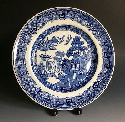 Johnson Bros Willow Blue Dinner Plate Made In England