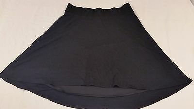 Gap Womens Maternity Skirt - Black Stretch Knit - Lined - Size Small