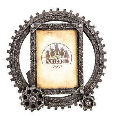New Cog Wheel Frame Large - 7041 Photo Frame Mystalee Designs by Brigalow