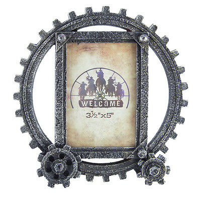 New Cog Wheel Photo Frame Small - 7042 Photo Frame Mystalee Designs by Brigalow