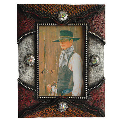 New Standing Resin 'Concho' Frame - 7012 Photo Frame Mystalee Designs by Brigalo