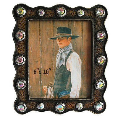 New Frame with Conchos - 7014 Photo Frame Mystalee Designs by Brigalow