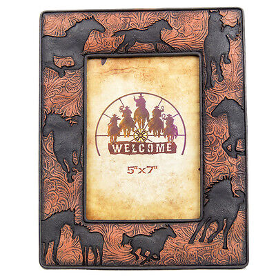 New Resin Horses Photo Frame - 7026 Photo Frame Mystalee Designs by Brigalow