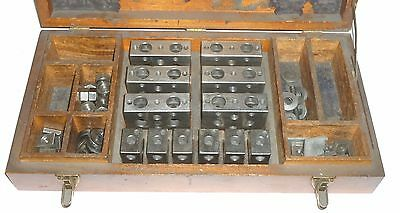 Moore Tool Co. Precision Parallel Block Set In Wooden Case