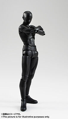 [FROM JAPAN]S.H.Figuarts Body kun (Solid black Color Ver.) Action Figure Bandai