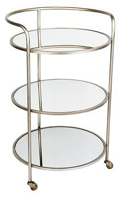 Trio Mirrored Drinks Trolley CL - 31288