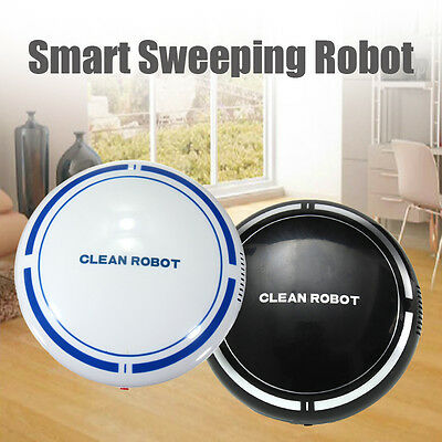 Home Automatic Robot Robotic Vacuum Floor Cleaner Sweeper Suction Rechargeable