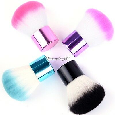 Kabuki Face Makeup Blush Powder Mini Handle Cosmetic Large Brush Foundation
