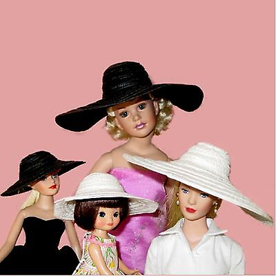GREAT WHITE PICTURE DOLL HAT FOR Kitty Collier VT18 Revlon