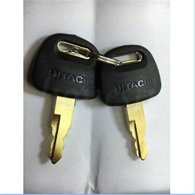 1/2/5/10PCS Newest style Heavy Equipment Keys For Hitachi H800 ZAX Excavator