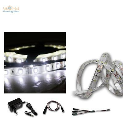( 9,37€/ m) LED BANDEAU LUMINEUX Set 2x 2,4m m blanc froid smd-stripe +