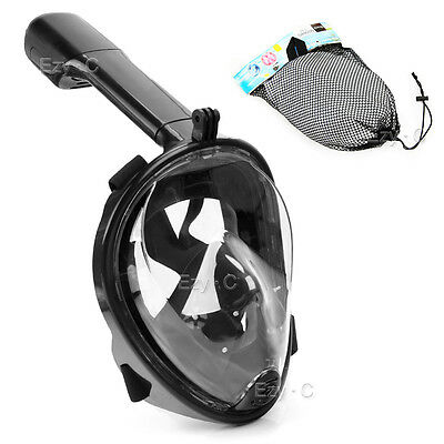 Full Face Diving Seaview Snorkel Snorkeling Mask Swimming Goggles for GoPro OZ