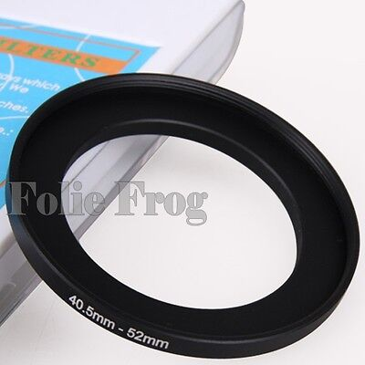40.5-52mm 40.5 to 52mm Metal Step Up Camera Lens Filter Ring Adapter Converter