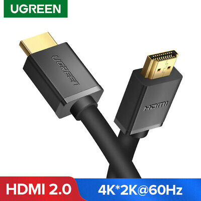 UGREEN HDMI Cable V1.4 High Speed & Ethernet For PS3 HDTV Projector 4K*2K 3D NEW