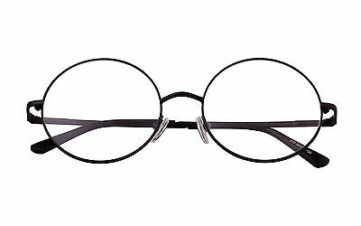 99aafaa67e1 Harry Potter Retro Round Prescription ready Metal Eyeglasses Frame Clear  Lens RX