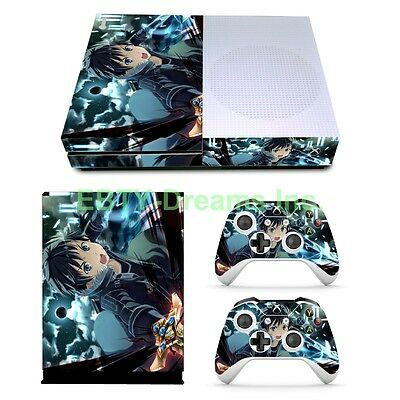 Faceplates, Decals & Stickers 100% True Sao Sword Art Online Anime Kirito Vinyl Skin Sticker Decal Protector For Wii U Video Game Accessories
