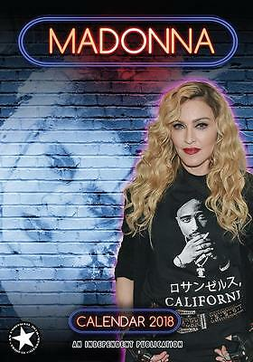 Madonna 2018 Calendar Large Uk  Wall By Dream + Free Uk Postage !!