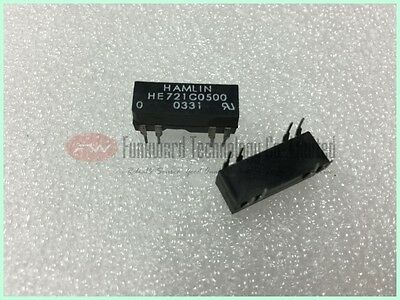 HE721C0500 5VDC 200Ohm 0.25A Dry Reed Relay x 10pcs