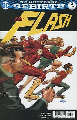 Flash #3 (Vol 5) Variant Cover by Dave Johnson DC Rebirth