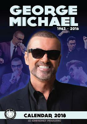 George Michael 2018 Calendar Large Uk  Wall By Dream + Free Uk Postage !!