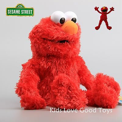 35CM Sesame Street Elmo Plush Hand Puppet Play Games Doll Toy Puppets New 2016