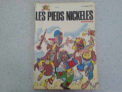 Les Pieds Nickelehippies N°71 édition 1972