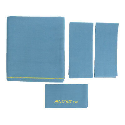 M00RI500 Worsted Pool Table Cloth 9ft Table, Bed Cloth & Cushion Strip B#