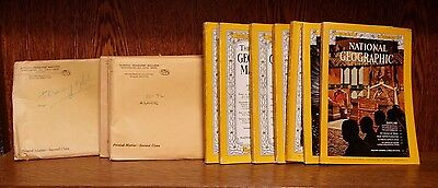 Job lot National Geographic 12 issues mixed years pack. Craft projects.