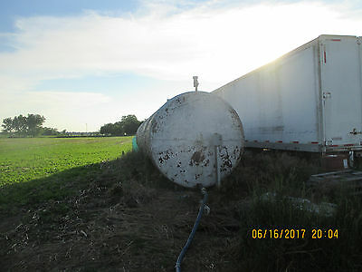 Approx 15000 gal tank was fuel tank and has been used for 28 % for a while