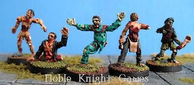 Zombiesmith Horror Mini 28mm Zombies D - Zombie Parts Set Pack MINT