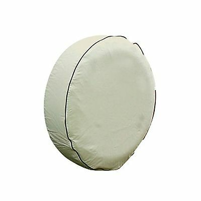 "Camco 45350 RV Vinyl Spare Tire Cover 34-Inch Diameter Beige 34"" New"