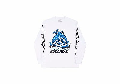 11df724f PALACE BASICALLY A Pocket Longsleeve White - $85.00 | PicClick