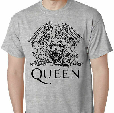 Queen Crest Forever T Shirt Freddie Mercury Brian May Roger Taylor John Deacon