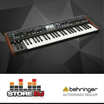 Behringer Deepmind 12 49-Key 12-Voice Analogue Synthesizer