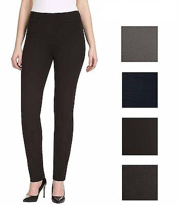 Hilary Radley Ladies' Stretch Pull-on Ponte Pants, Choose Color NWT Size S
