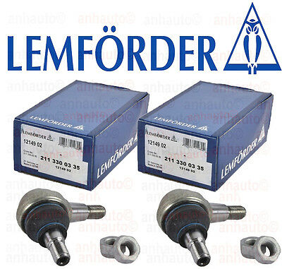 Set of 2 Lemforder Brand Lower Ball Joint Mercedes W202 C208 W210 W211 W220 R170