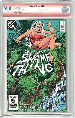 Swamp Thing #25 (6/1984) Vsp Cbcs 9.6 Nm+ W Signed Bissette & Tottleben Not Cgc