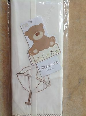 Mothercare Loved So Much Pillowcase For A Cot...Bnip