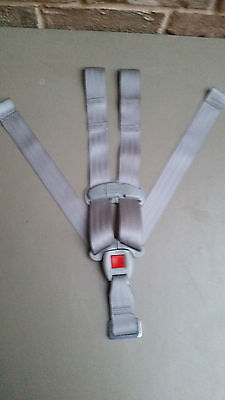Graco Snugride 30/35 baby car seat Replacement straps buckle harness Gray NEW