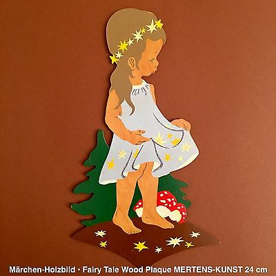 German Vintage Childhood Fairy Tale Antique Wood Toy1: MERTENS-KUNST TOADSTOOLS