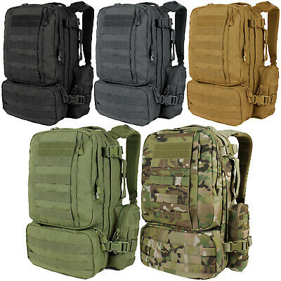 Condor 169 Tactical MOLLE PALS Heavyweight Hiking Convoy Outdoor Backpack Pack