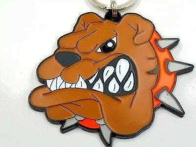 """spike The  Bulldog Keychain"""