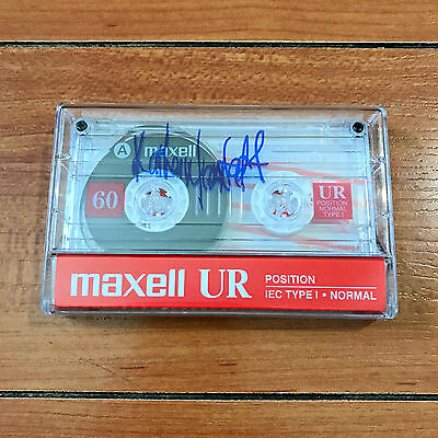 KATHERINE LANGFORD SIGNED 13 REASONS WHY MAXWELL CASSETTE TAPE REPLICA w/ PROOF