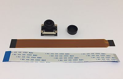 Raspberry Pi Wide Angle Camera Module (Pi Zero Cable Included)