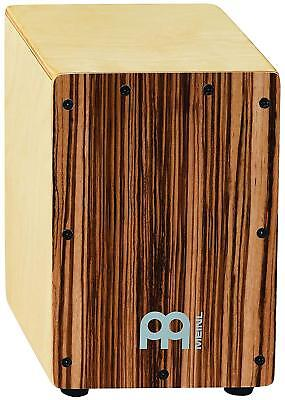 Drum Box Percussion Cajon Zebrano Front Plate Body Panel Gift Personalised Wood